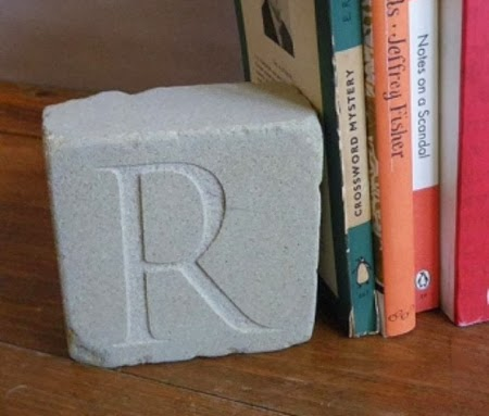 gifts for book lovers - initial bookend