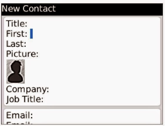 Hapus Semua Contact Address di BlackBerry