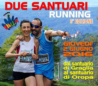 CLASSIFICA Due Santuari Running 2016