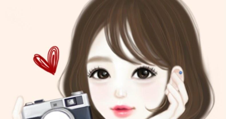 Koleksi Gambar Kartun Foto Artis Korea