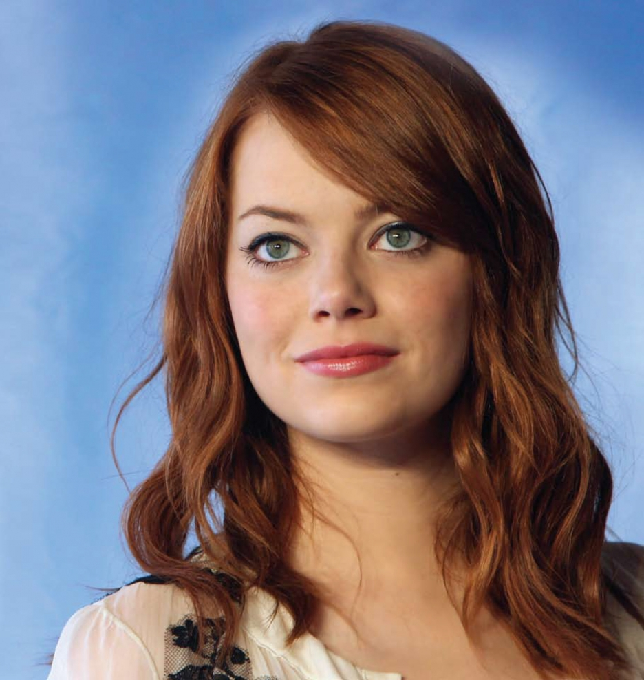 Andrew Garfield Wallpaper Iphone Emma Stone Emma Stone With Brown Hair