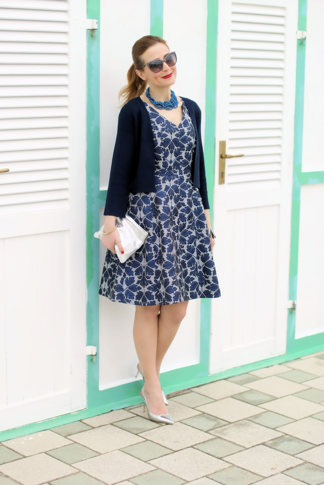 Bon ton dress from 1.2.3 Paris on Fashion and Cookies fashion blog, fashion blogger style