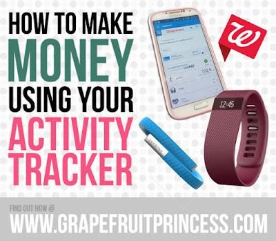 make money using activity tracker, fitbit, jawbone, walgreens, monetize, workout, runkeeper, webmd