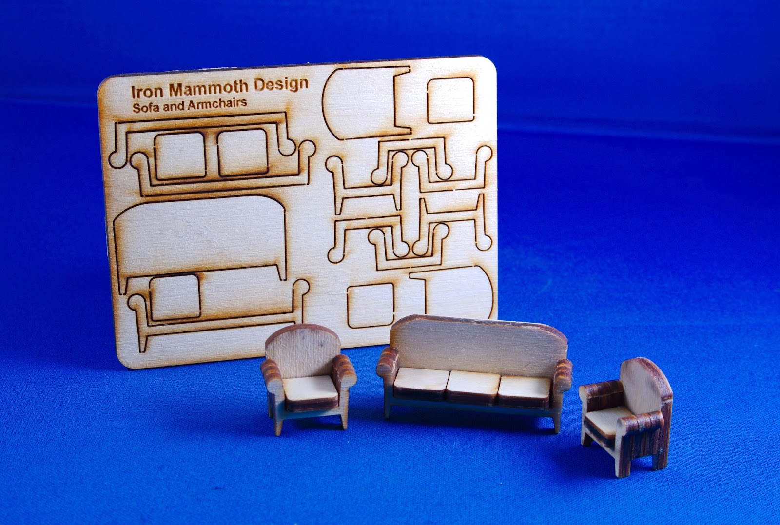 Iron Mammoth s Studio Laser Cut Furniture Kits