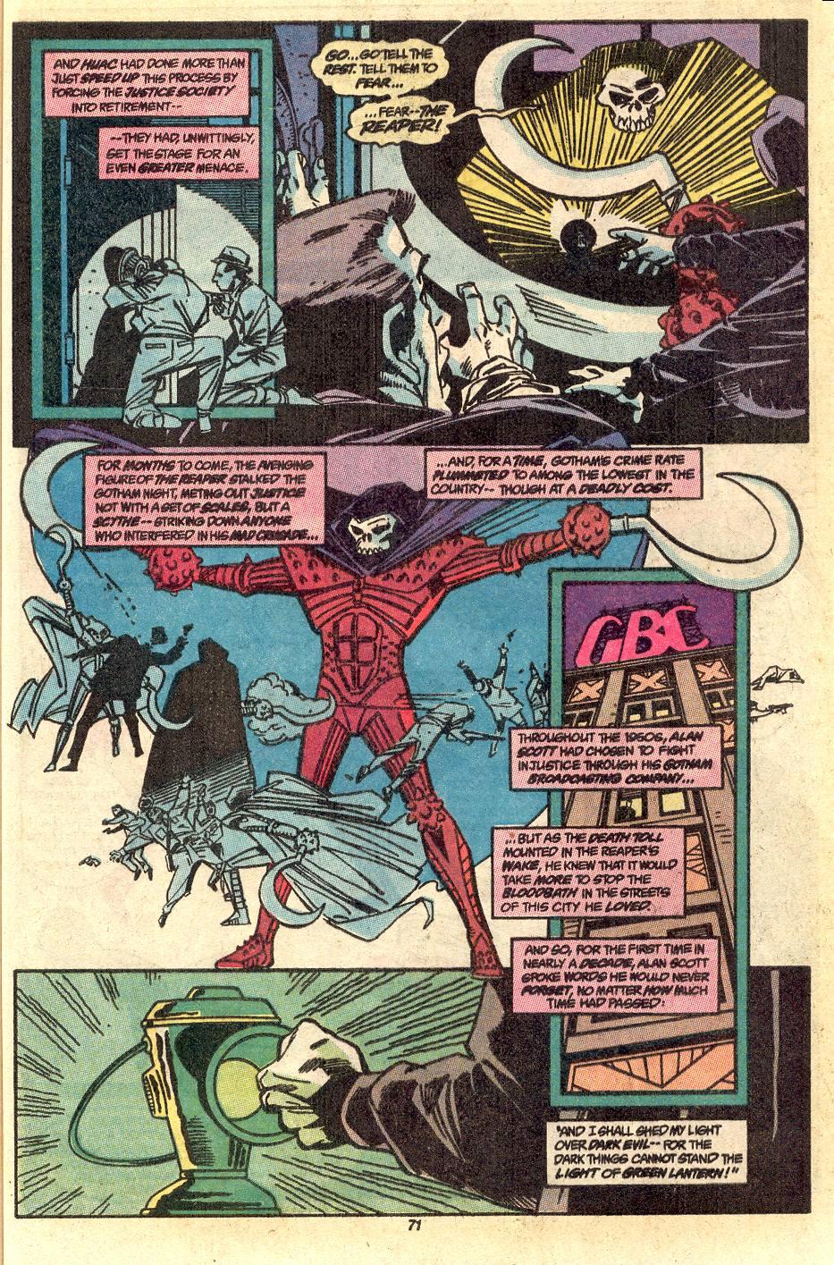 Read online Secret Origins (1986) comic -  Issue #50 - 74