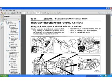 KIA SORENTO CRDI XS Wiring Diagram Manual | Free Online Manual