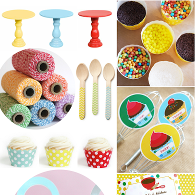 Baking Birthday Party Ideas For Girls or Boys