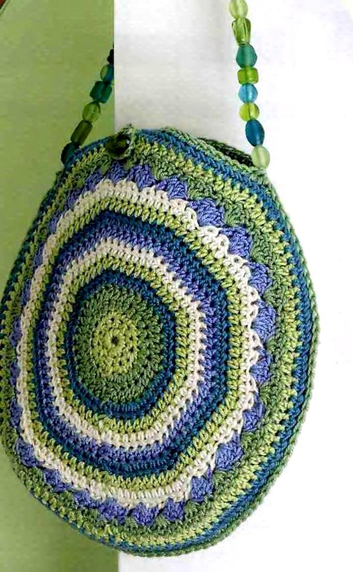 Круглая сумка. Round bag