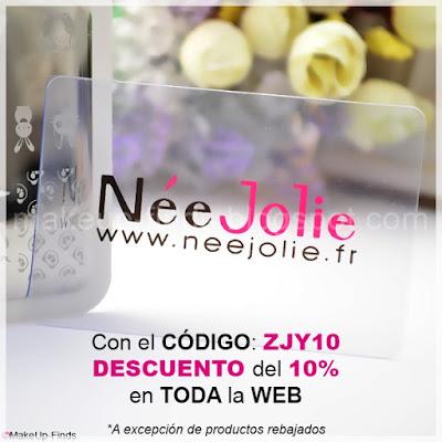 MakeUp-Finds-CON-EL-CÓDIGO-ZJY10-Descuento del 10% en NéeJolie.fr