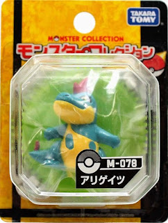 Croconaw figure Takara Tomy Monster Collection M series