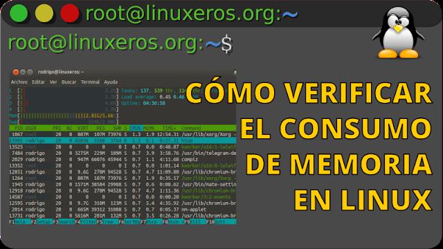 Verificar el consumo de memoria en Linux