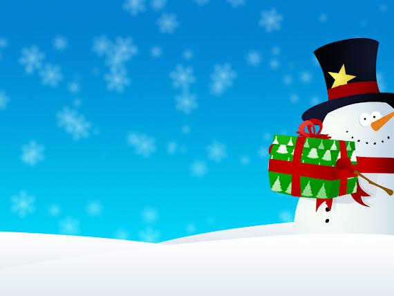 download besplatne pozadine za desktop 1152x864 slike ecard čestitke blagdani Božić poklon snjegović
