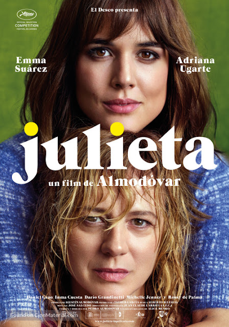 Julieta, Movie Poster, Pedro Almodovar