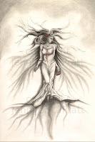 woman art, figurative artworks, surreal drawings