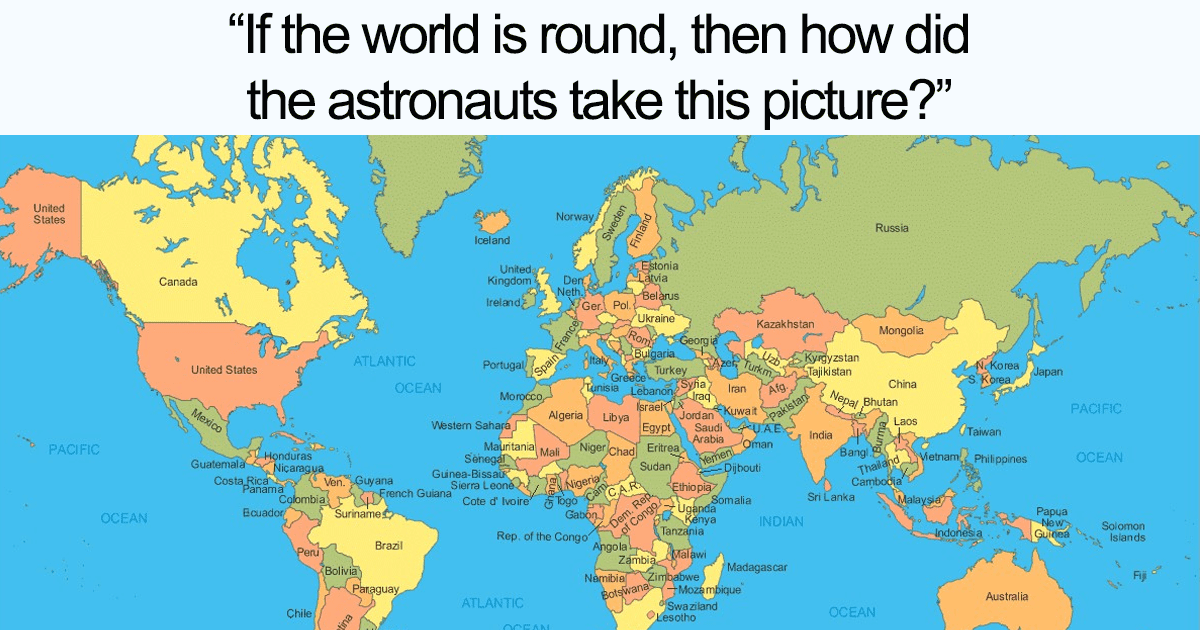 25 Genius Memes Are Trolling Flat-Earthers In The Best Way Possible