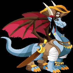 Dragón Pirata (Adulto)