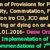 Implementation of Recommendations of 7th CPC- Revision of Provisions for Pension, Gratuity, Commutation, Family Pension iro CO, JCO and ORs, retiring or dying on or after 01.01.2016