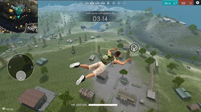 Gameplay Free Fire Battleground 2