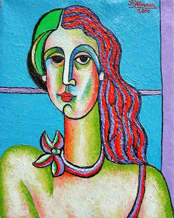 Испанский художник. Fernando Alvarez Alonso
