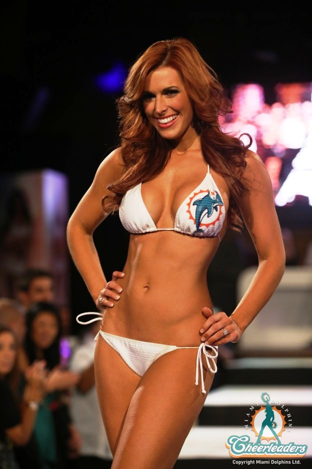 Miami Dolphins Cheerleaders Swimsuit