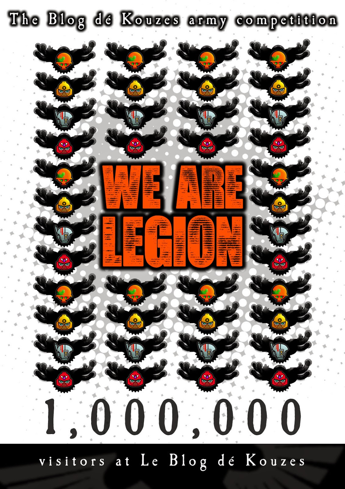 http://leskouzes.blogspot.co.uk/2014/12/we-are-legion-results.html