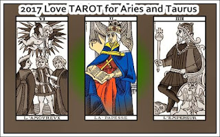 2017 Psychic Love oracle TAROT for Aries and Taurus