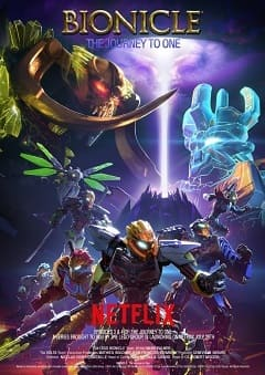 LEGO Bionicle - Jornada Épica Desenhos Torrent Download capa