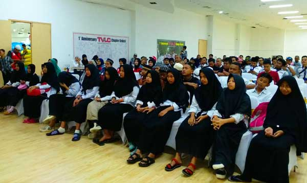 Milad TVLC Chapter Bekasi Diisi Santunan Ramadan
