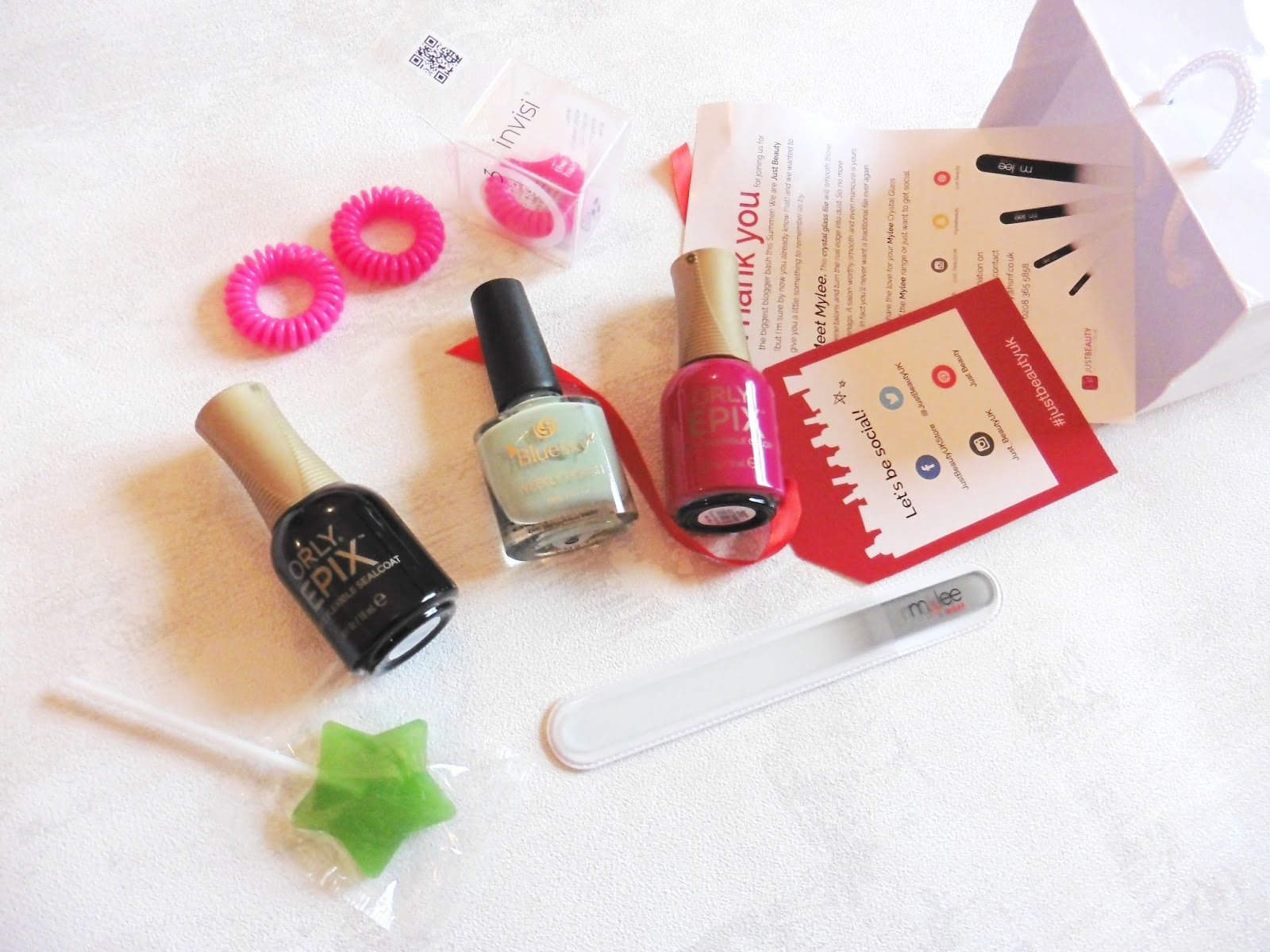 lebellelavie - A little goodie bag treat from Just Beauty