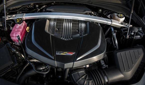 2018 Cadillac XT4 Engine