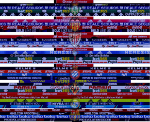 Adboards LaLiga Santander Season 2018/2019 - PES 6