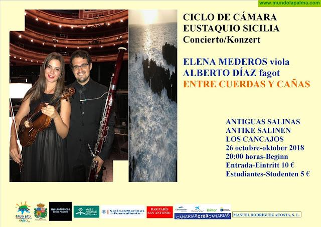 """LAS SALINAS: Concierto """"Entre Cuerdas y Cañas"""""""