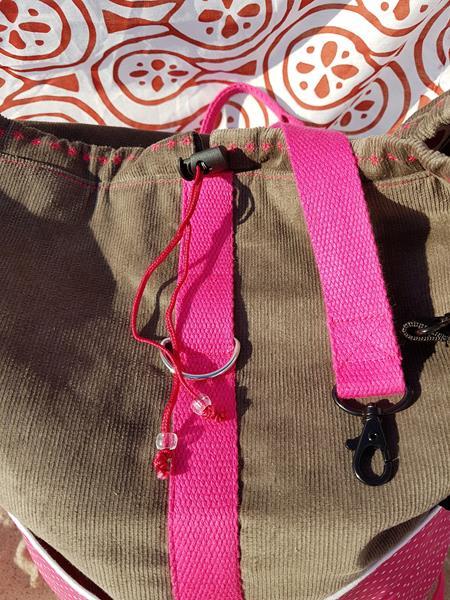 Packs ein von farbenmix als Strandrucksack