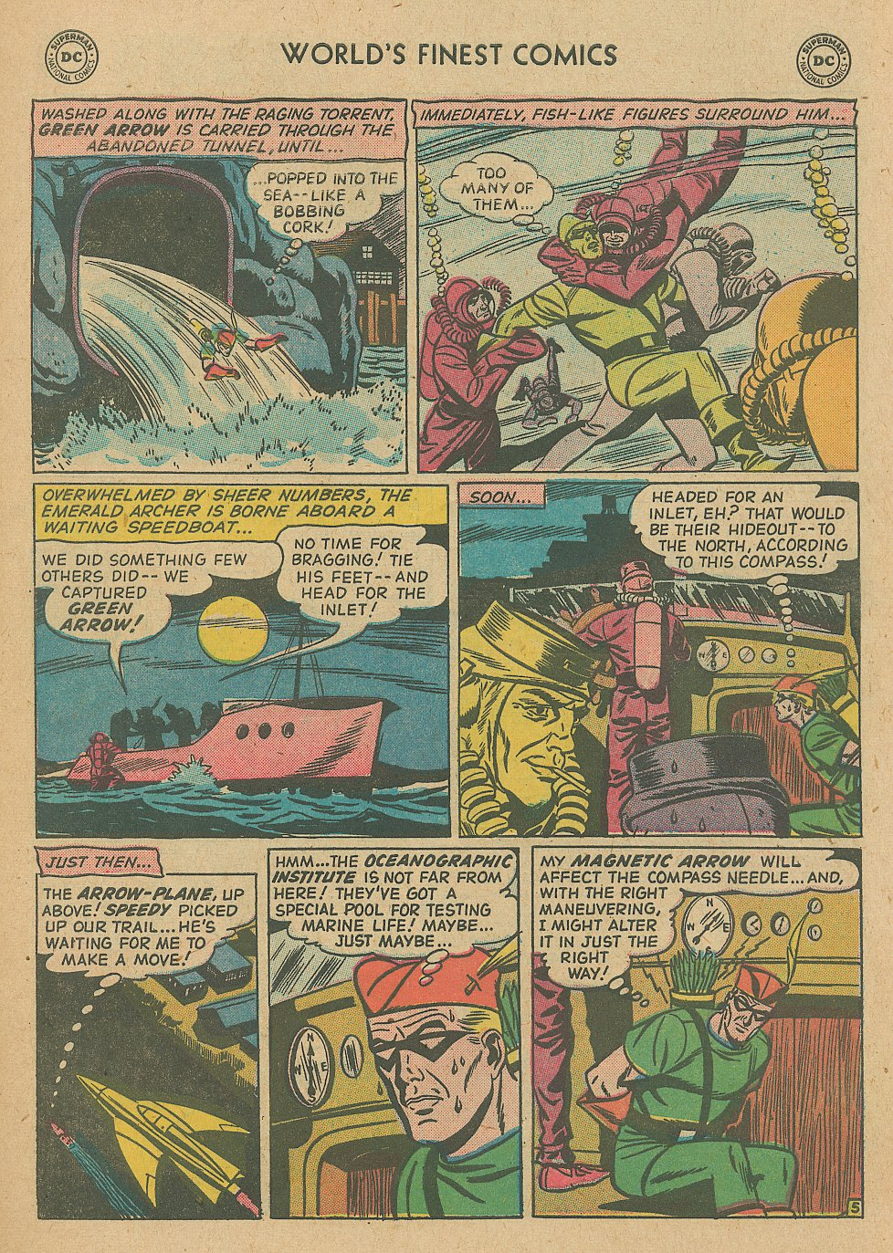 Read online World's Finest Comics comic -  Issue #92 - 7