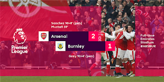Arsenal Hit Stunning Record After Late Comeback Against Burnley