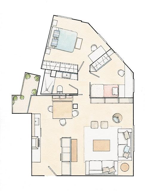 decoração casa 60 m², blog Achados de Decoração