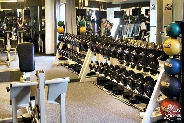Gym of Vivere Hotel