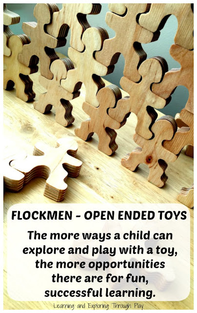 Flockmen - Open Ended Play Toys that grow with your child. Natural Toys for children.