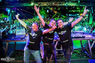 Fotografía del trío Dream Team