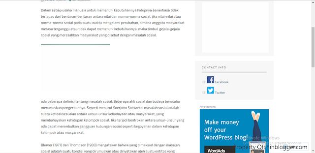 pengunaan headings pada blog