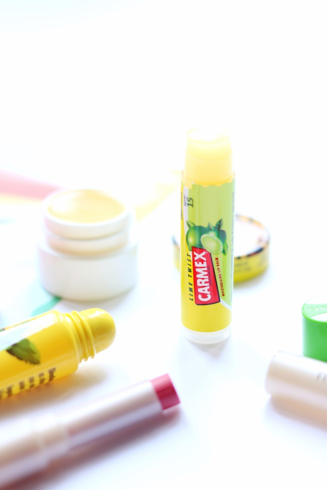 august gratitude list - Carmex Lime Lip Balm