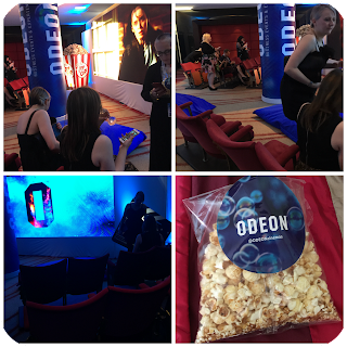 uk blog awards 2016 odeon pop up cinema