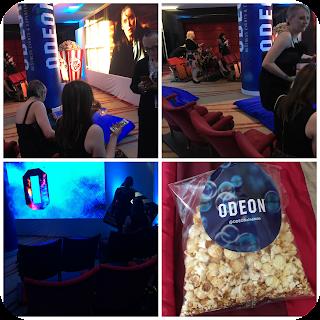 uk blog awards 2016 odeon pop up cinema