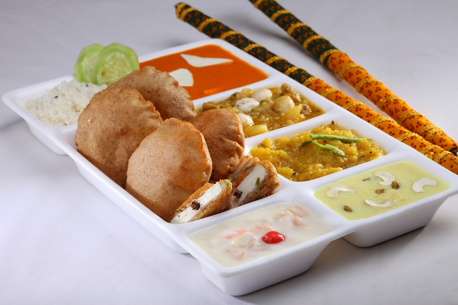 navratri thali food in delhi