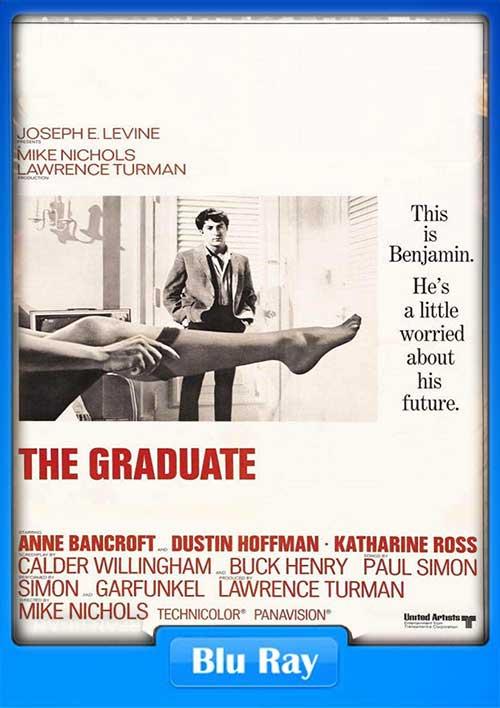 The Graduate 1967 720p BluRay 750MB x264 Poster