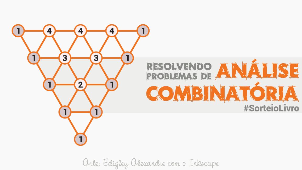 Sorteio de um livro sobre Análise Combinatória para o Ensino Fundamental