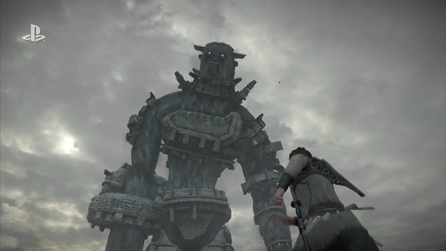 Shadow of the Colossus PlayStation 4 remake remaster Wander