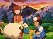 Ash con Mareep
