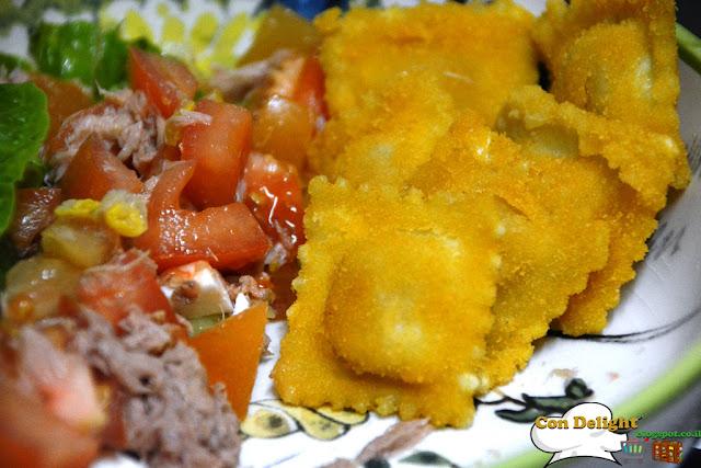 רביולי מטוגן fried ravioli