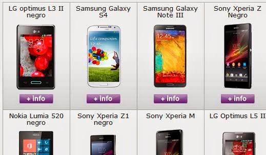 Ofertas móviles ONO en abril 2014